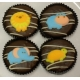 Chocolate Covered Oreo Cookie - Baby Safari Animals