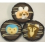 Chocolate Covered Oreo Cookie - Baby Woodland Animals