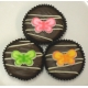 Chocolate Covered Oreo Cookie - Butterflies