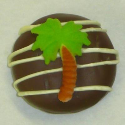 Chocolate Covered Oreo Cookie Palm Tree