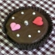 Chocolate Covered Oreo Cookie - Two Hearts