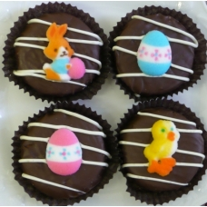 Chocolate Covered Oreo Cookie - Easter Decorations