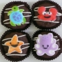 Chocolate Covered Oreo Cookie - Sea Creatures