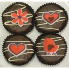 Chocolate Covered Oreo Cookie - Lovebird Assortment