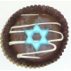 Chocolate Covered Oreo Cookie - Star of David