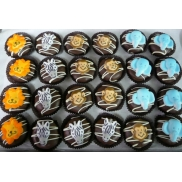 Chocolate Covered Oreo Jungle Animals