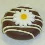 Chocolate Covered Oreo Cookie - Daisy Decoration