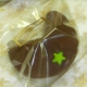 Chocolate Fortune Cookies - Star Decoration