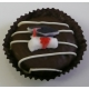 Chocolate Covered Oreo Cookie - Graduation Cap & Scroll