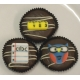 Chocolate Covered Oreo Cookie - Assorted School